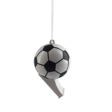 Customized promotional sport cheap plastic football whistle