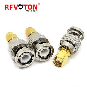 Rf Coaxial Connector SMA Plug Male To BNC Adapter