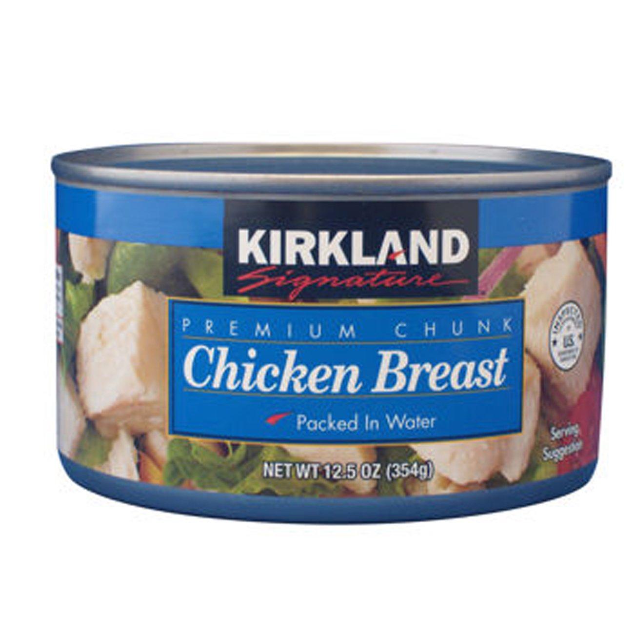 Kirkland Signature™ Premium Chunk Chicken Breast 12.5oz 24-pack - COS