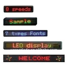 Programmable Led Sign for Window Advertising