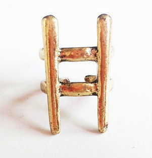 cute ladder Alloy ring
