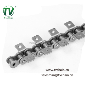 C2040 Conveyor Roller Chain With K1 Attachments