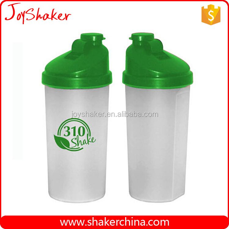Custom Color & Brand Protein Plastic Bottle Shake