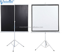 Fast folding Electronic projector screen projector screen with high quality projector screen tripod 100inch 200inch 300inch