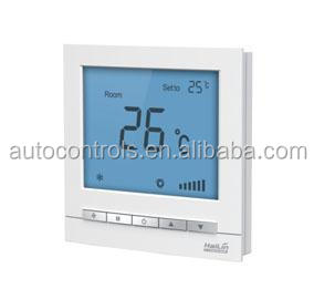 HL2023 FCU LCD digital thermostat, HVAC new designed room thermostat