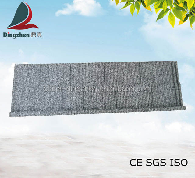 Shingle Type stone coated steel roofing tile/plastic roof tile