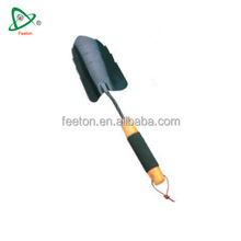 Utility garden hand tool shovel with soft pvc sleeve