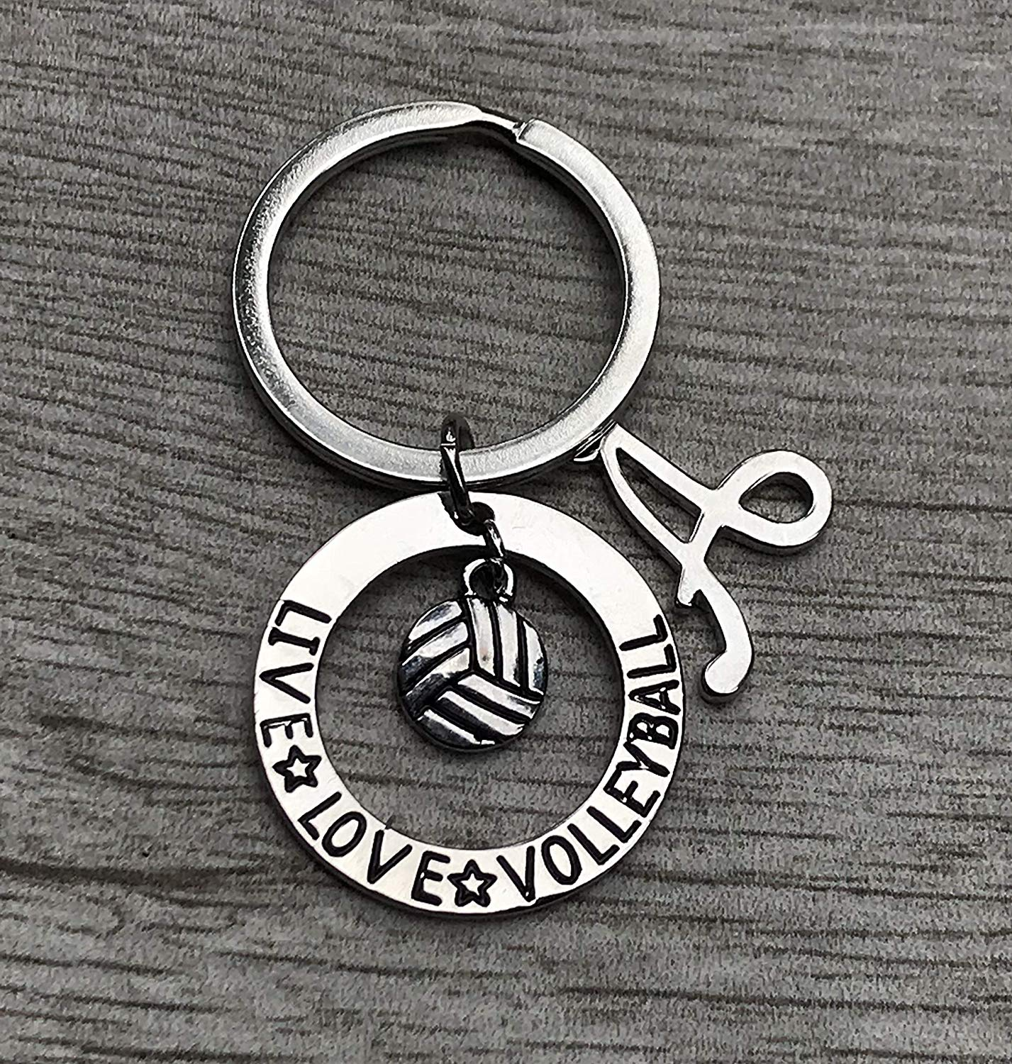 Live Love Volleyball Gift, Girls Volleyball Jewelry, Perfect Volleyball Player, Team and Coaches Gifts