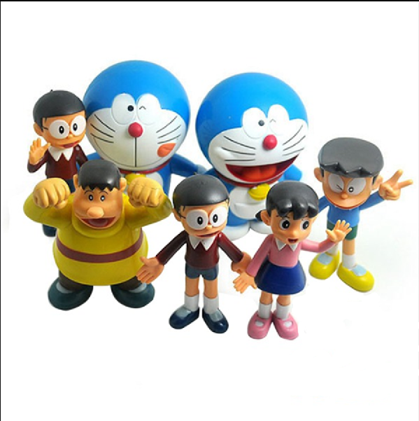 pvc anime doraemon action figure