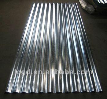 Toles Zinc Aluminium Galvanized Corrugated Steel Sheet