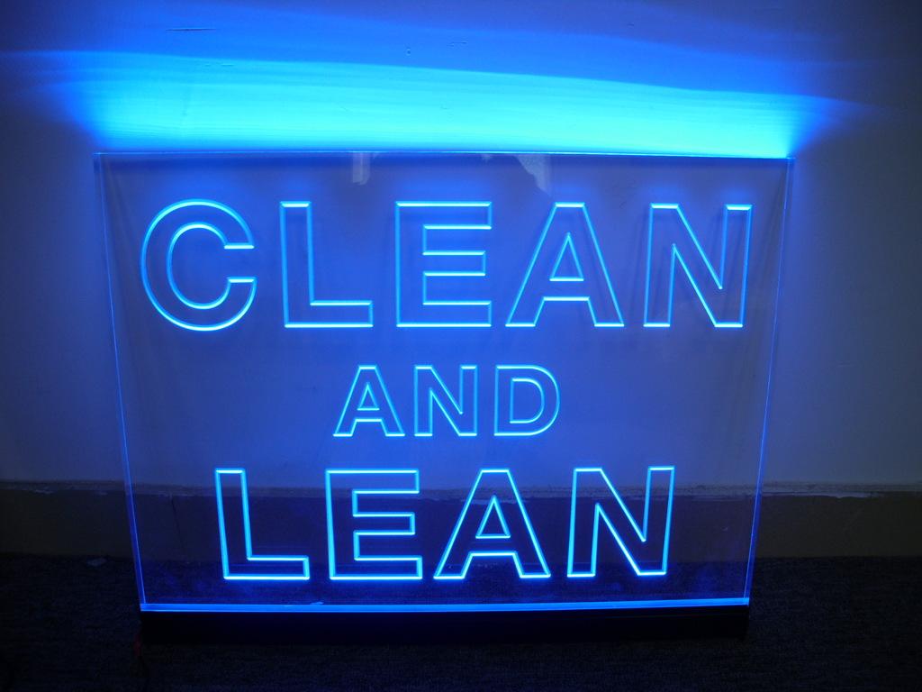 Large-size Acrylic Led Light Signage