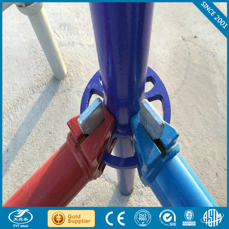 Carbon Steel aluminum ring lock system scaffold with low price