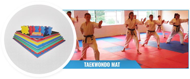 Cheap Puzzle Eva Tatami Wkf Gym Mat Martial Arts 1m