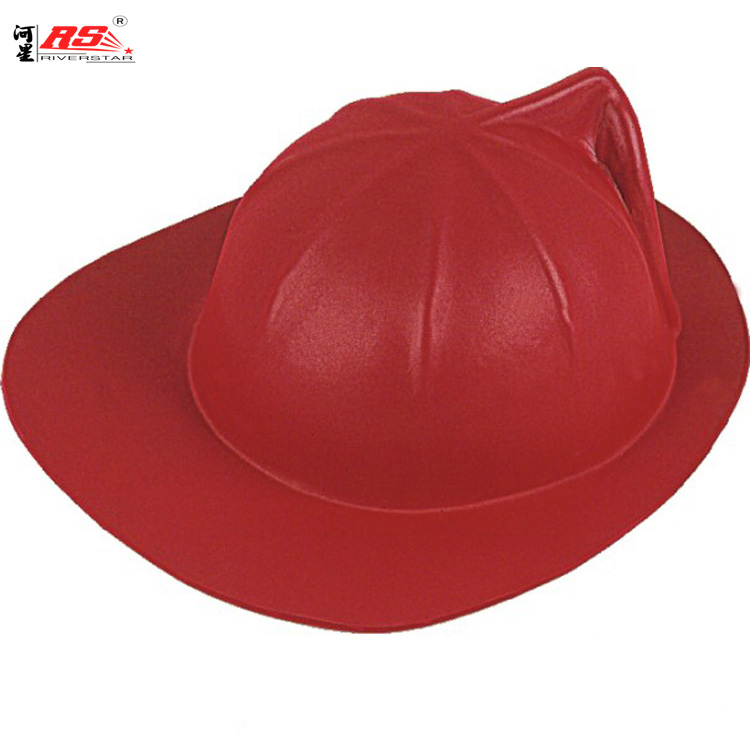 Red EVA Custom Hat Wholesale Soft Foam Cosplay Party HOT Head Accessories Firefighter Toy Fireman Hats