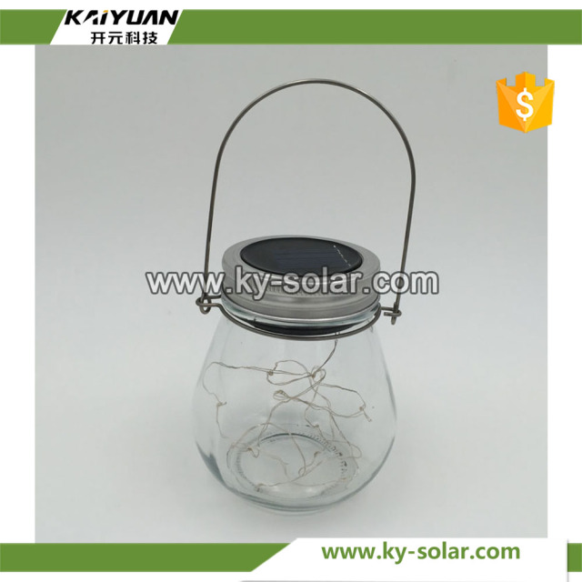 Solar Lid Light Wholesale Part - 25: Glass Solar LED Lid Lights Sun Jar Wholesale