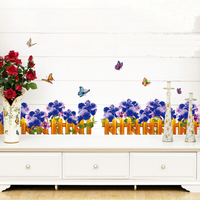 Wholesale removable pvc outdoor wall stickers