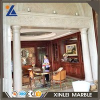 Natural Design Image Beige Cream Marble Tile For Flooring