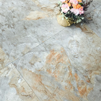 Marble Texture Pvc Flooring 18x18in Recycled Plastic Floor Mats For Home