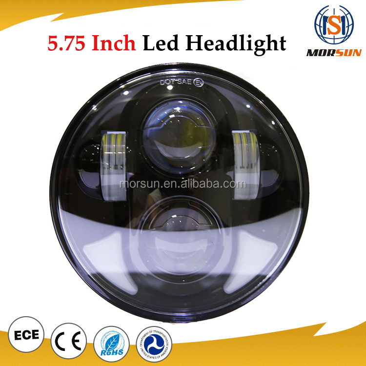 Automobiles & Motorcycles 5.75 harley led headlight motorcycle replacement led headlight