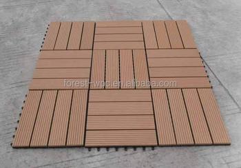 Houten Vloer Tegels : Houten vloer tegels mm gerecycled plastic hout rubber hout