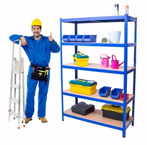 Heavy Duty 5-Tier Metal Industrial Commercial Garage Shop Storage Shelving Unit