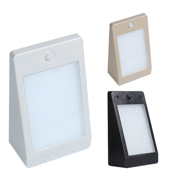 Wholesale price 5w 10w ip65 waterproof motion sensor garden outdoor solar led wall light