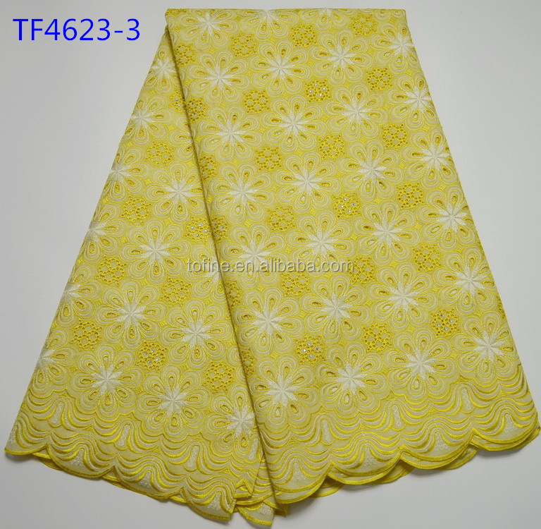 Wholesale Price High Quality korean swiss voile lace African Lace