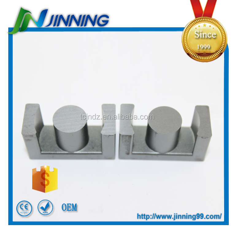 EC33 high frequency transformer soft ferrite core , ferrite core bobbin