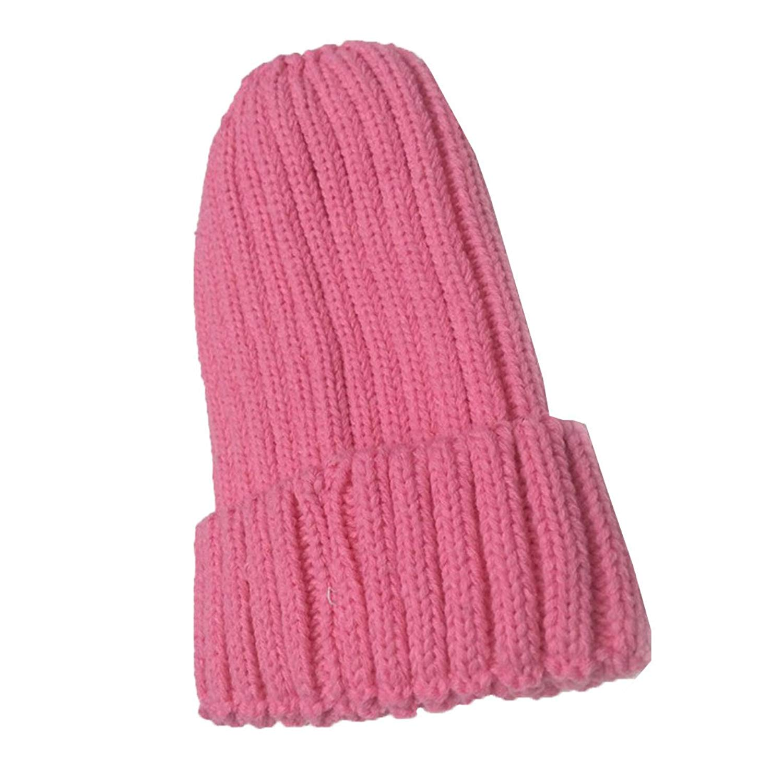39cfae73 Get Quotations · Beige/ Pink/ Black Extra Thick Warm Knit Hat Soft Cotton  Hat Woolen Hat Autumn