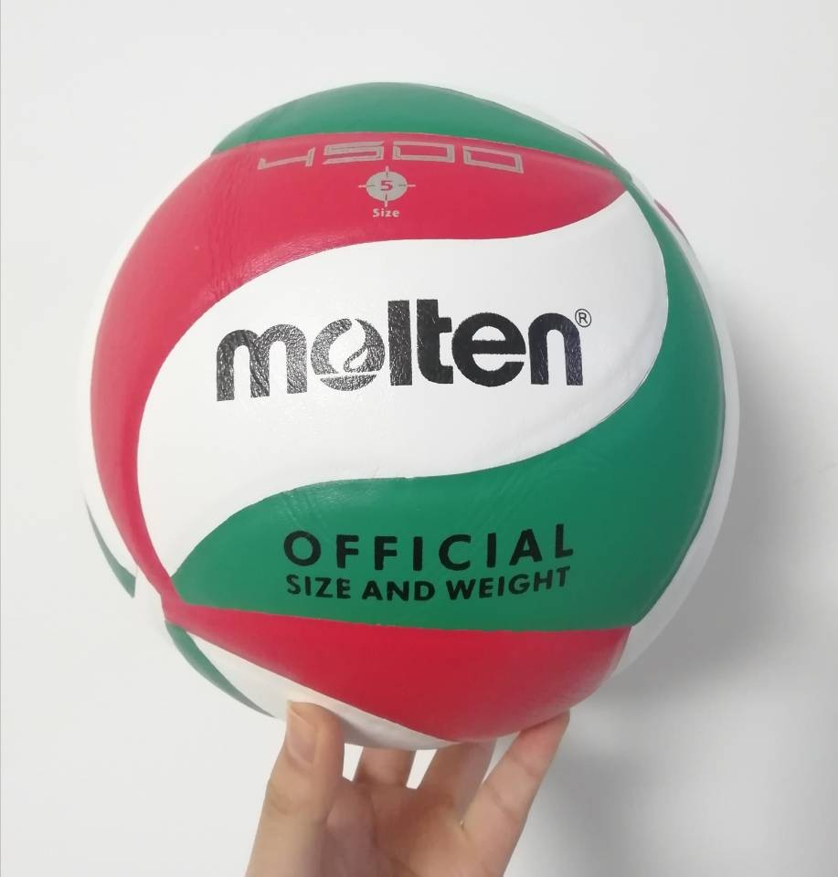 Best quality voleibol soft PU Size 5 Molten Volleyball 4500 5000 ball volleyball for club