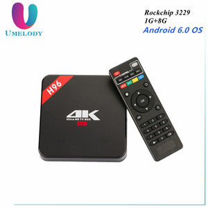 French Spanish Arabic IPTV Box H96 4K Android TV Box with KINGIPTV Account for Europe France Spain UK Italy PayTV Set top Box