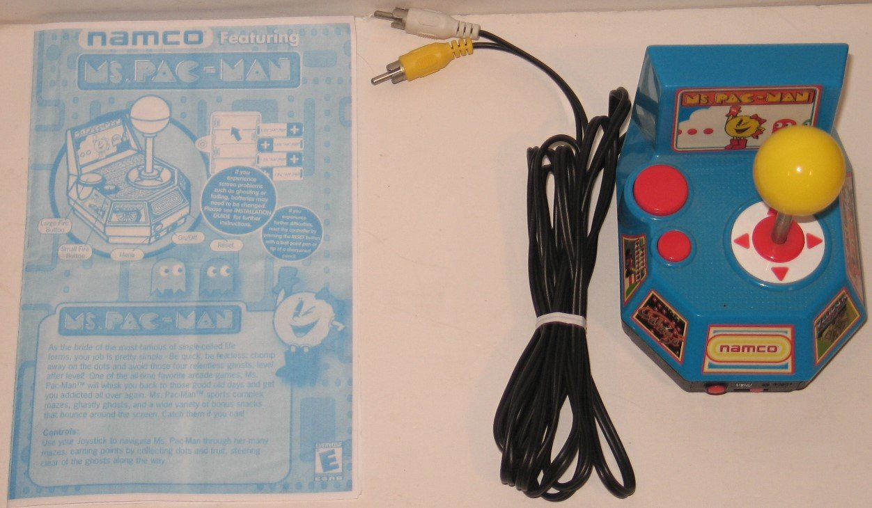 Buy Namco Ms Pac Man Plug Play With 5 Tv Games In Cheap Price On Electrical Wiring