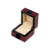 Custom Retro Brown High Gloss Lacquered Wooden Jewelry Necklace Gift Box