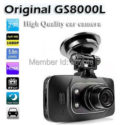 Hd 1080 P автомобиль DVR автомобиль камера видео даш кулачок G - датчик HDMI GS8000L автомобиль рекордер DVR