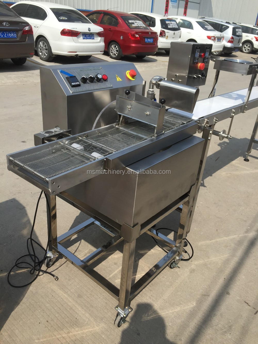 High Quality Equipment Used Small Chocolate Coating Tempering ...