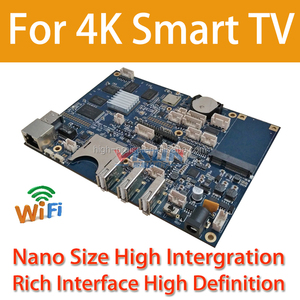 4K 3840*2160 Definition Android TV Motherboard with Quad Core Processor