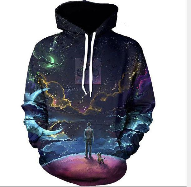 Hoodie Oversize Custom Sweatshirts Ensembles 3d Print French Terry <strong>Hoodies</strong> For Men