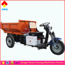 Heavy Load Dump Garbage Tricycle With Dump
