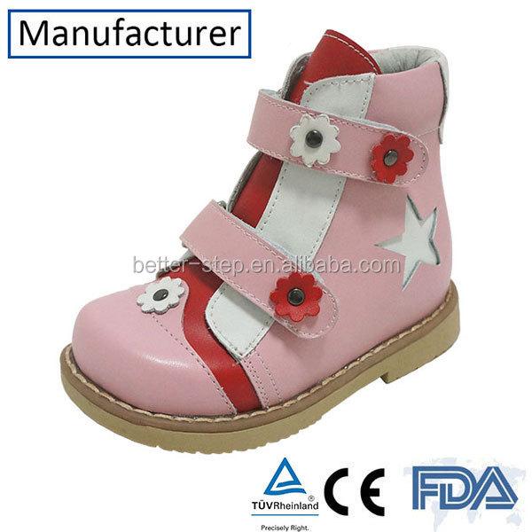 Mignon bébé fille Chaussures Orthopédiques