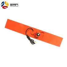 China 12v electric flexible silicone rubber heater bed/pad