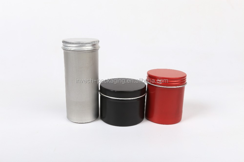 hot sale/buy empty tin cans round, metal tin can for beard balm