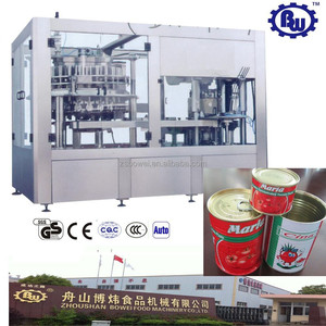 China Professional Machinery Manufacturer Economic Canning Production Line for Beverage and Food
