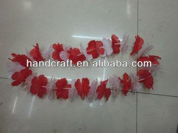 Paper flower lei buy artificial hawaiian leisilk leifresh orchid paper flower lei mightylinksfo