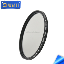 DSLR accessories filter camera photo filters Thin multi - layer coated circular polarizering filter