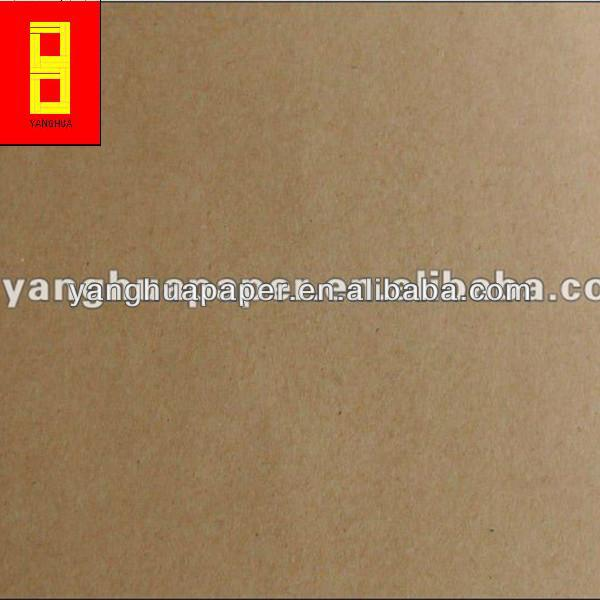 100%origin 80g pe coated brown kraft paper sheet , Foaming Kraft Paper