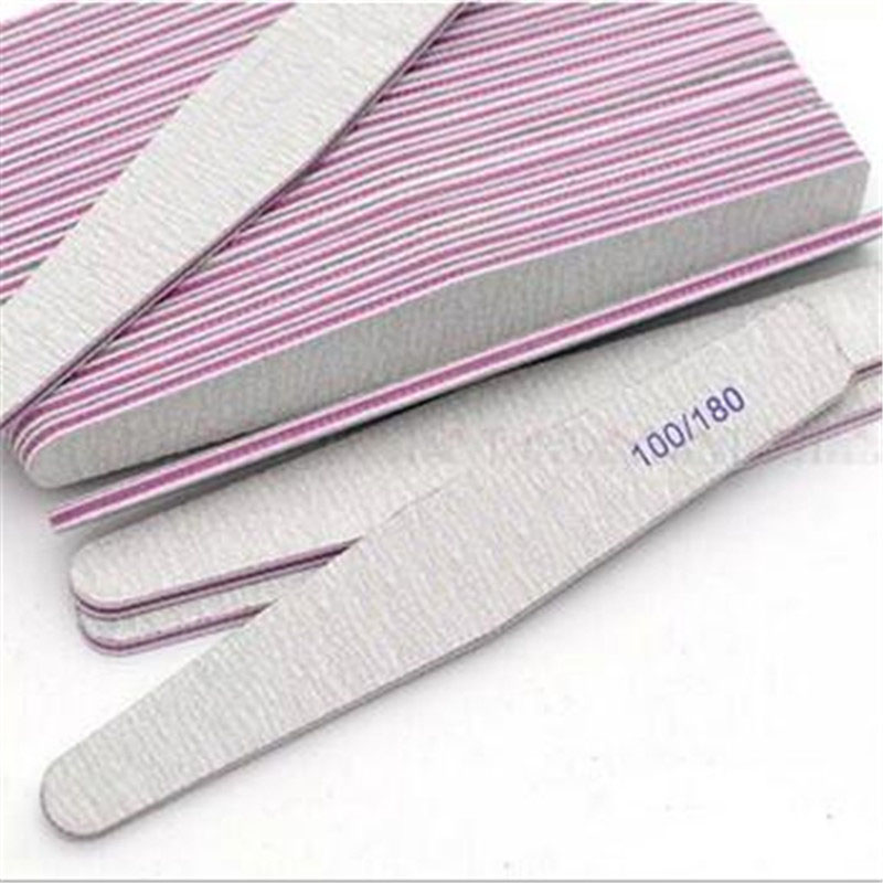 Nail Sanding Files Polish Buffer Block Manicure Pedicure Tips Gel Vogue Nail File Nail Art Tool