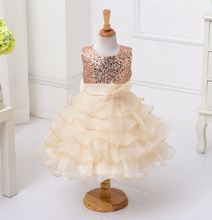 white angel kid bow frocks light colour baby girl party dress