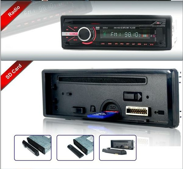 VCAN0739 DVD DVCD CD MP3 MP4 USB digunakan mobil cd player