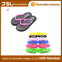 Custom wholesale eva slippers beach wedding flip flops women for outdoor and indoor