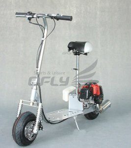 49CC CE Approved Foldable Gas Scooter with Steel Board GS4903